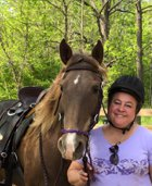 Dayton realtor Cyndi with her horse