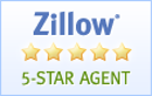 zillow 5 star agent reviews
