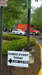 Leesburg Community Shred Event