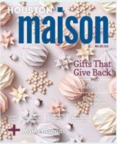 Holiday issue of Roger Martin's Houston Maison eZine