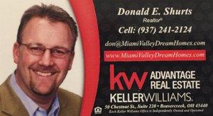 Dayton Keller Williams agent Don Shurts