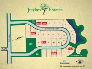 Site Map of Jordan Estates