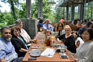 Roger Martin Properties team enjoys brunch at The Kitchen at the Dunlavy