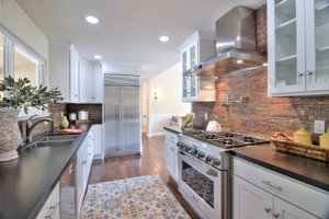 Pebble Beach Home for sale with a remodeled kitchen