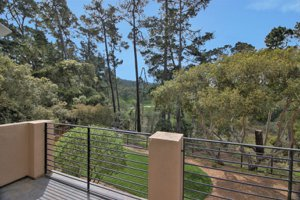 Pebble Beach Golf Course view home for sale