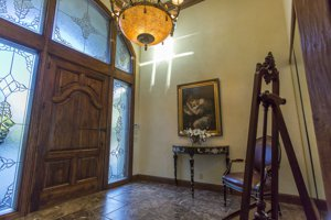Carmel Highlands antique front door