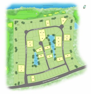Tuscan Sands Community Map - Barefoot Resort
