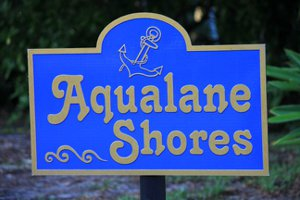 Naples FL Aqualane Shores Luxury Waterfront Home Search Map