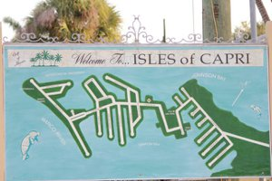 Isles of Capri Map