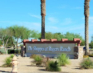 Several great shops and restaurants near Rogers Ranch Laveen
