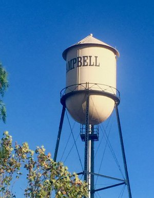 Campbell CA Water tower