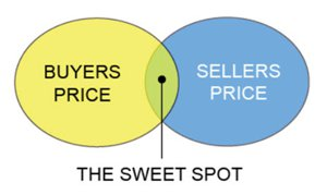 The Sweet Spot Pricing Diagram
