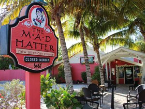 Cape Coral FL listings Sanibel Mad Hatter restaurant