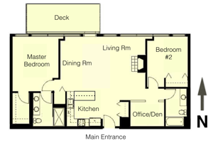 university commons floorplans