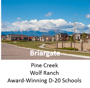 Briargate Colorado Springs Homes and Properties for Sale