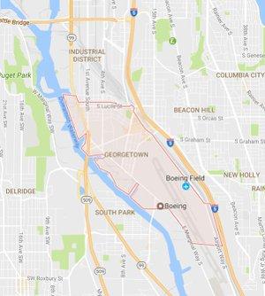 Georgetown Seattle Map.Georgetown Real Estate