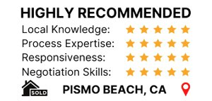 Client Review in Zillow for sold home in Pismo Beach by Fissori Real Estate Team