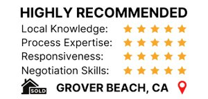 Client review in Zillow for home sold in Grover Beach CA