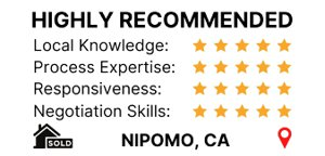 Client review in Zillow for sold home in Nipomo CA San Luis Obispo