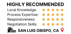 Client review in Zillow for sold home in San Luis Obispo