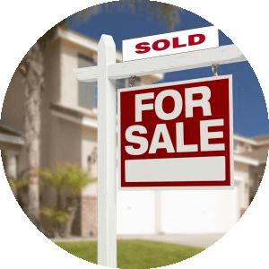 Icon to access homes for sale in San Luis Obispo County using advance search feature.