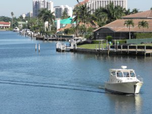 Park Shore waterfront homes Naples FL