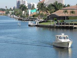 Park Shore waterfront homes Naples FL