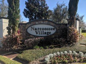 Narcoossee Village Entrance