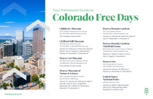 Colorado Free Days 2019