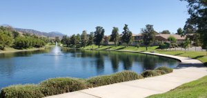 Spring Lake in East Highlands Ranch - Highland, California