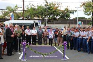 Purple Hearts Parking Dedication Honolulu Ford
