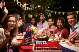 Fourth of July Party at Lake Wylie