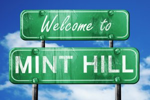 Mint Hill Welcome Sign