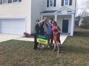 homes for sale wilmington - happy buyer