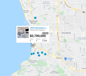 REDONDO BEACH map search