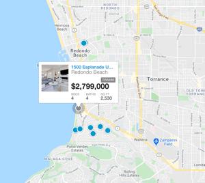 REDONDO BEACH map search