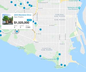 San Pedro map search