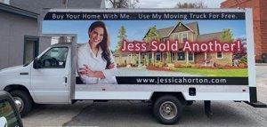 Jessica Horton Moving Truck