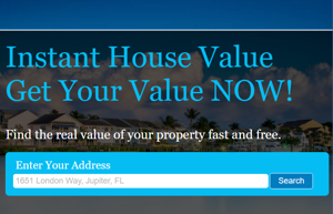 Instant Home Value South Florida Tool