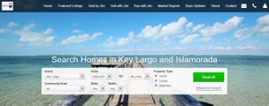 key largo and islamorada home search
