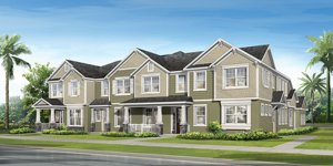 Mattamy Townhomes in Randal Park Lake Nona