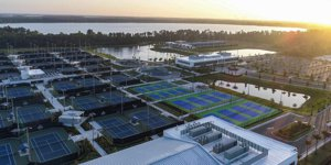 USTA National Campus Lake Nona Evening