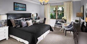 bedroom model at Fell's Landing
