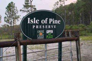 Rustic Isle of Pines in Orlando Florida near Lake Nona