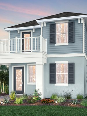 Isles of Lake Nona Model Homes