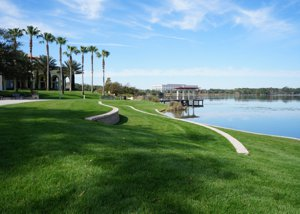 Lake Baldwin at Baldwin Park Florida