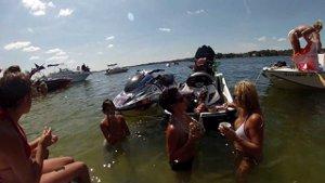 boating on Lake Butler