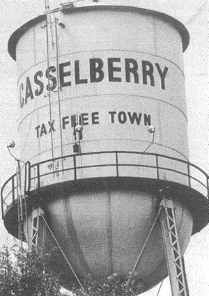 Old Casselberry Water Tower