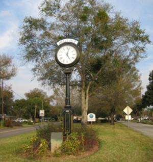 Belle Isle Clock
