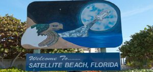 Satellite Beach Welcome Sign